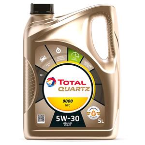 Engine Oils and Lubricants, TOTAL Quartz 9000 FuTuRE NFC 5W-30 ENGINE OIL 5 LITRE, Total