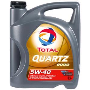 Engine Oils and Lubricants, TOTAL Quartz 9000 5W-40 ENGINE OIL 5 LITRE, Total