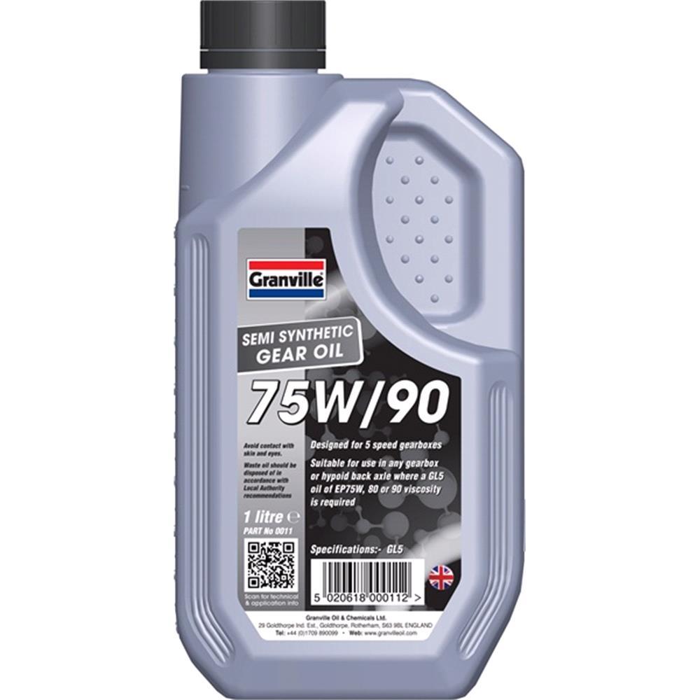 EP 75W 90 Gear Oil   1 Litre