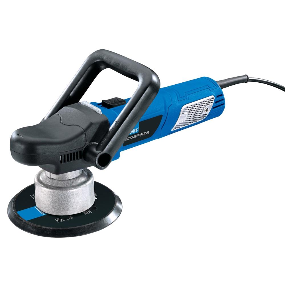Draper 01817 Storm Force 150mm Dual Action Polisher (900W)