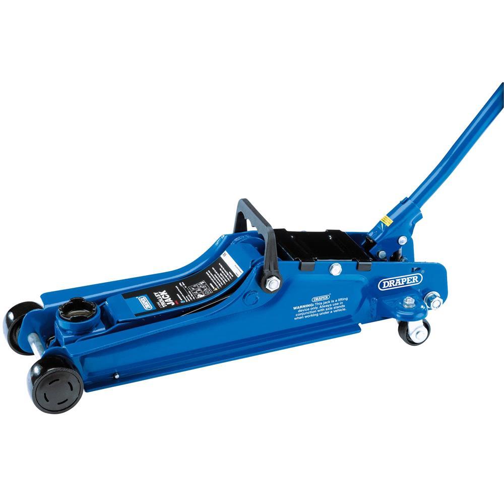 Draper 02082 Low Entry Trolley Jack (2 tonne)