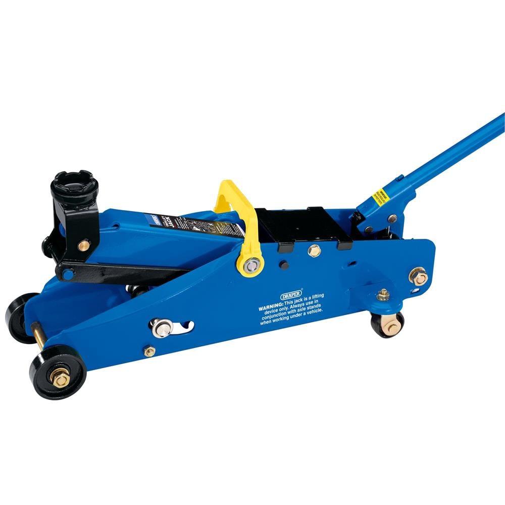 Draper 02093 Safety Lock Trolley Jack 2 tonne