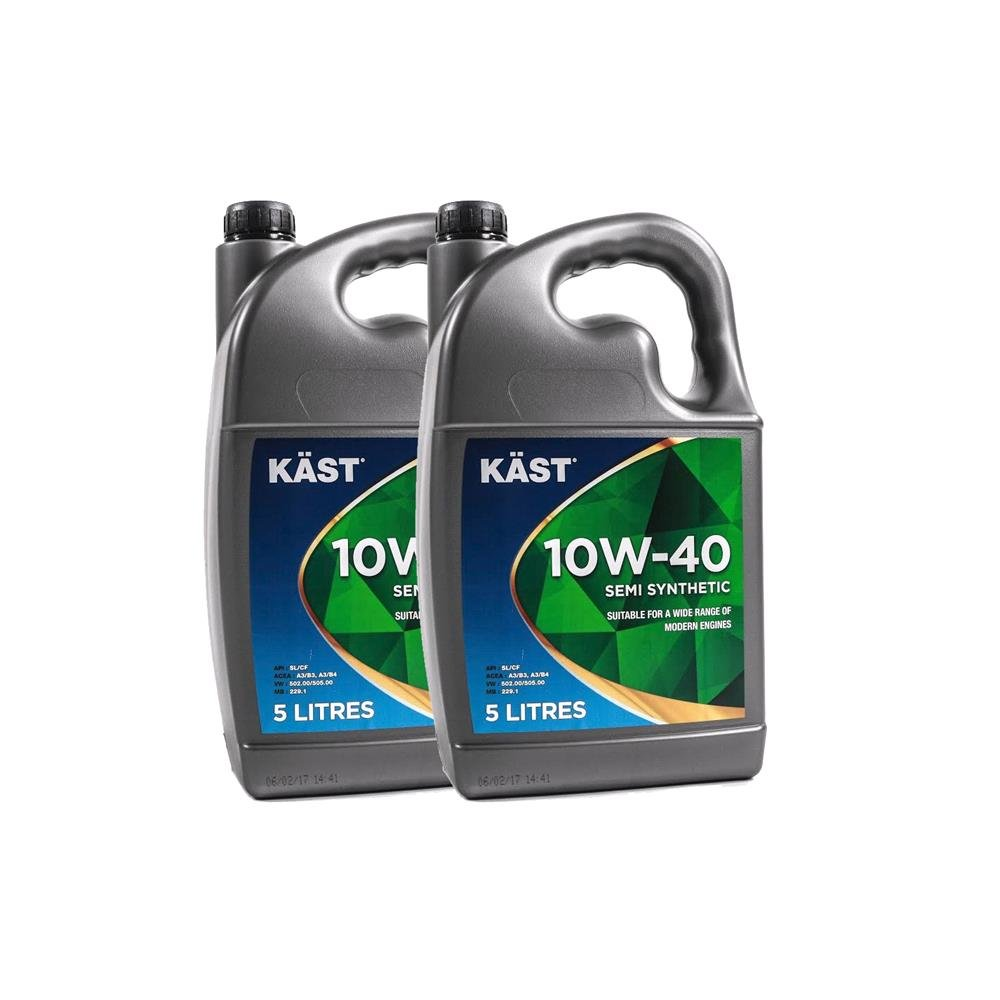 KAST 10w40 Semi Synthetic A3 B4 Engine Oil. 10 Litre