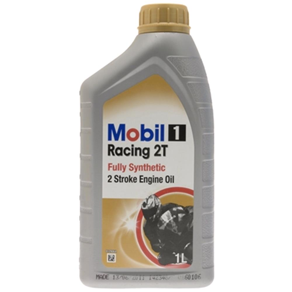 Mobil 1 Racing 2T   2 Stroke   Fully Synthetic Engine Oil. 1 Litre