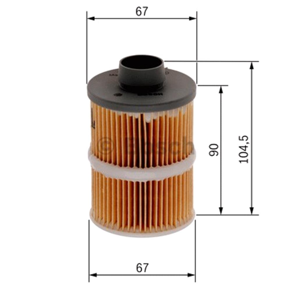 Bosch Fuel Filter 1457070001 Micksgarage