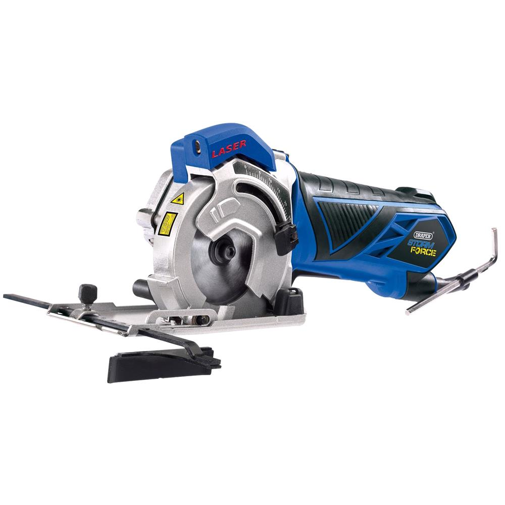 Draper 15098 Storm Force Mini Plunge Saw (600W)