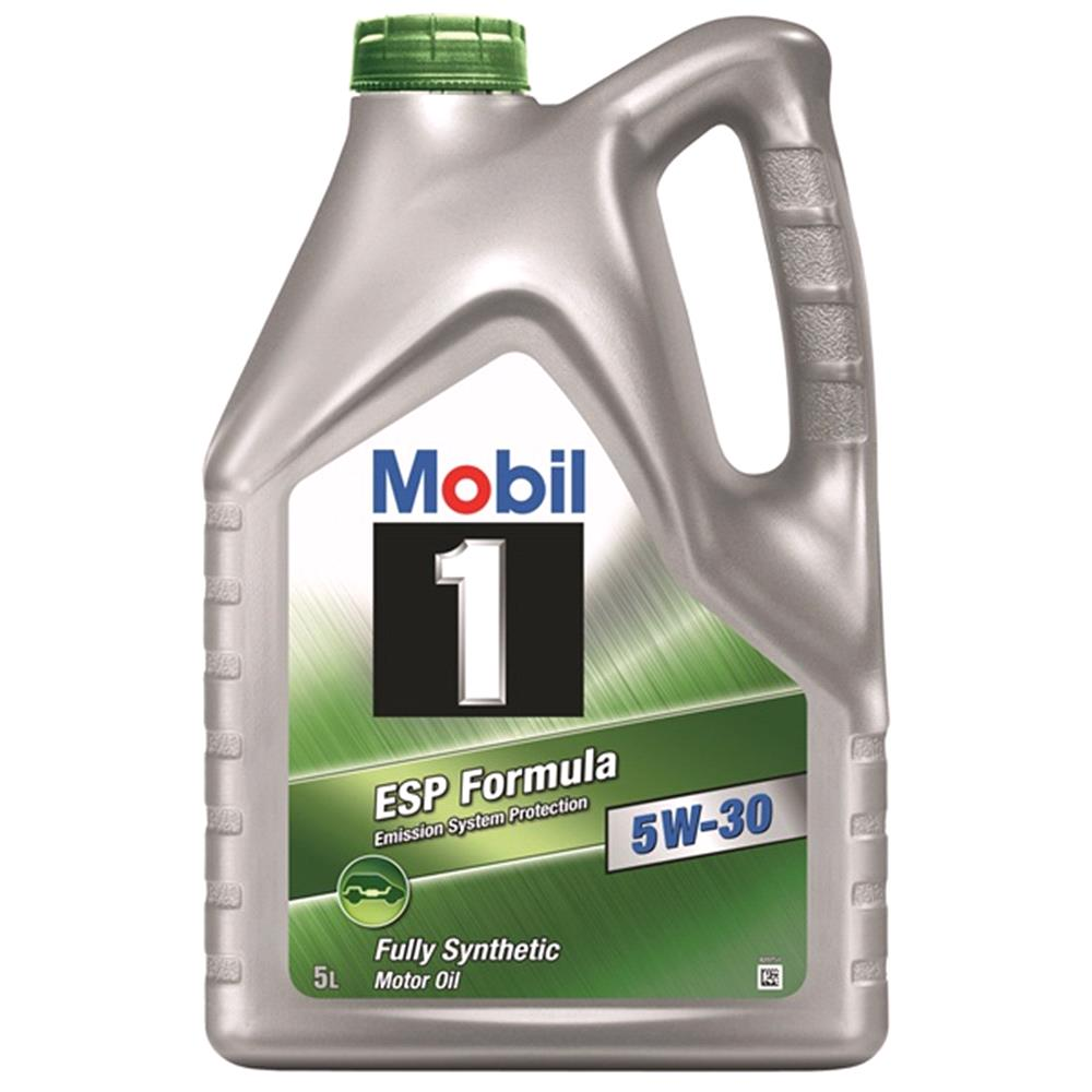 Mobil 1 ESP Formula 5W30 Fully Synthetic Engine Oil. 5 Litre
