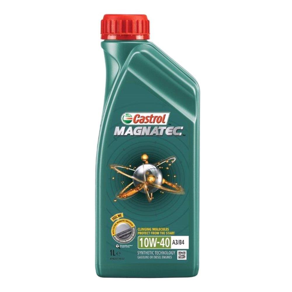 Castrol Magnatec 10W40 A3 B4 Semi Synthetic Engine Oil. 1 Litre