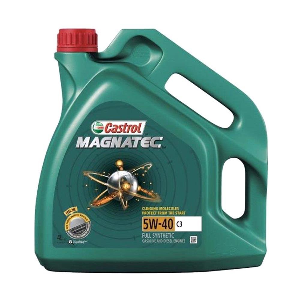 Castrol Magnatec 5W40 C3 Fully Synthetic Engine Oil. 4 Litre