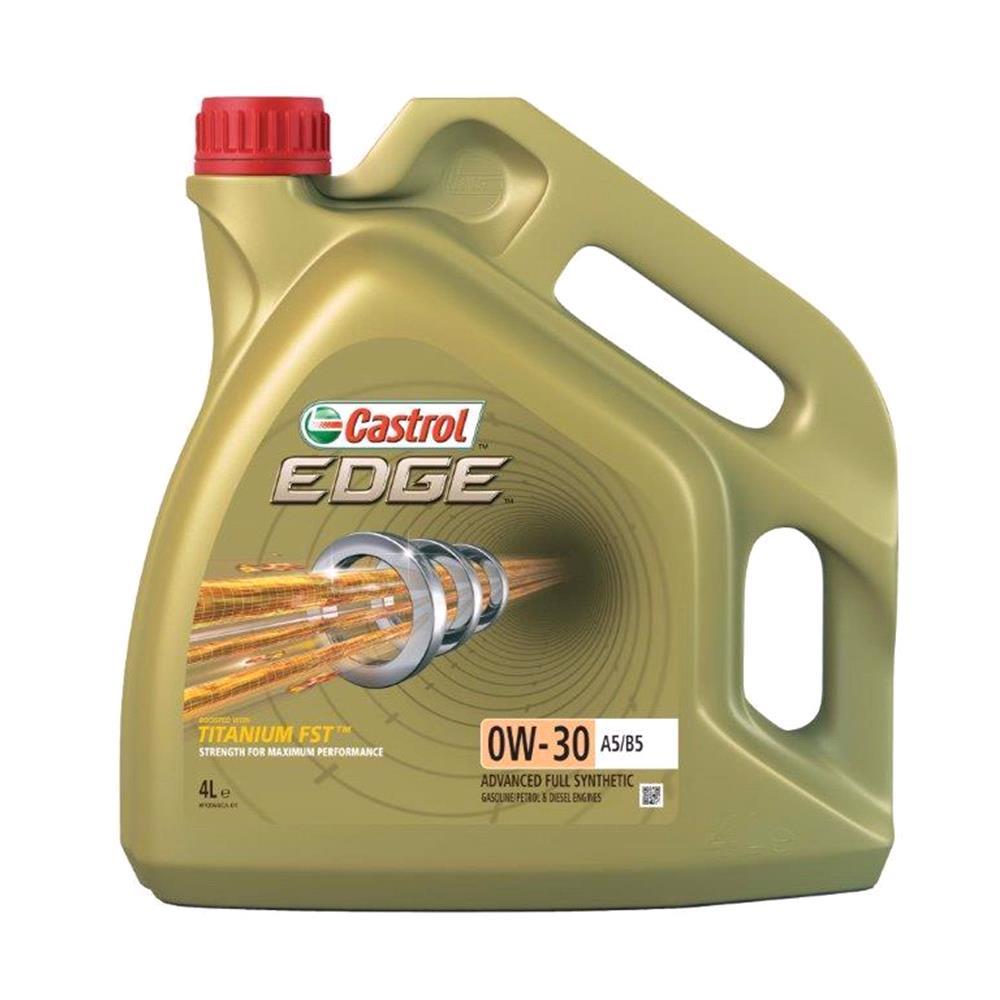 Castrol Edge 0W30 A5/B5 Titanium FST Fully Synthetic Engine Oil. 4 Litre