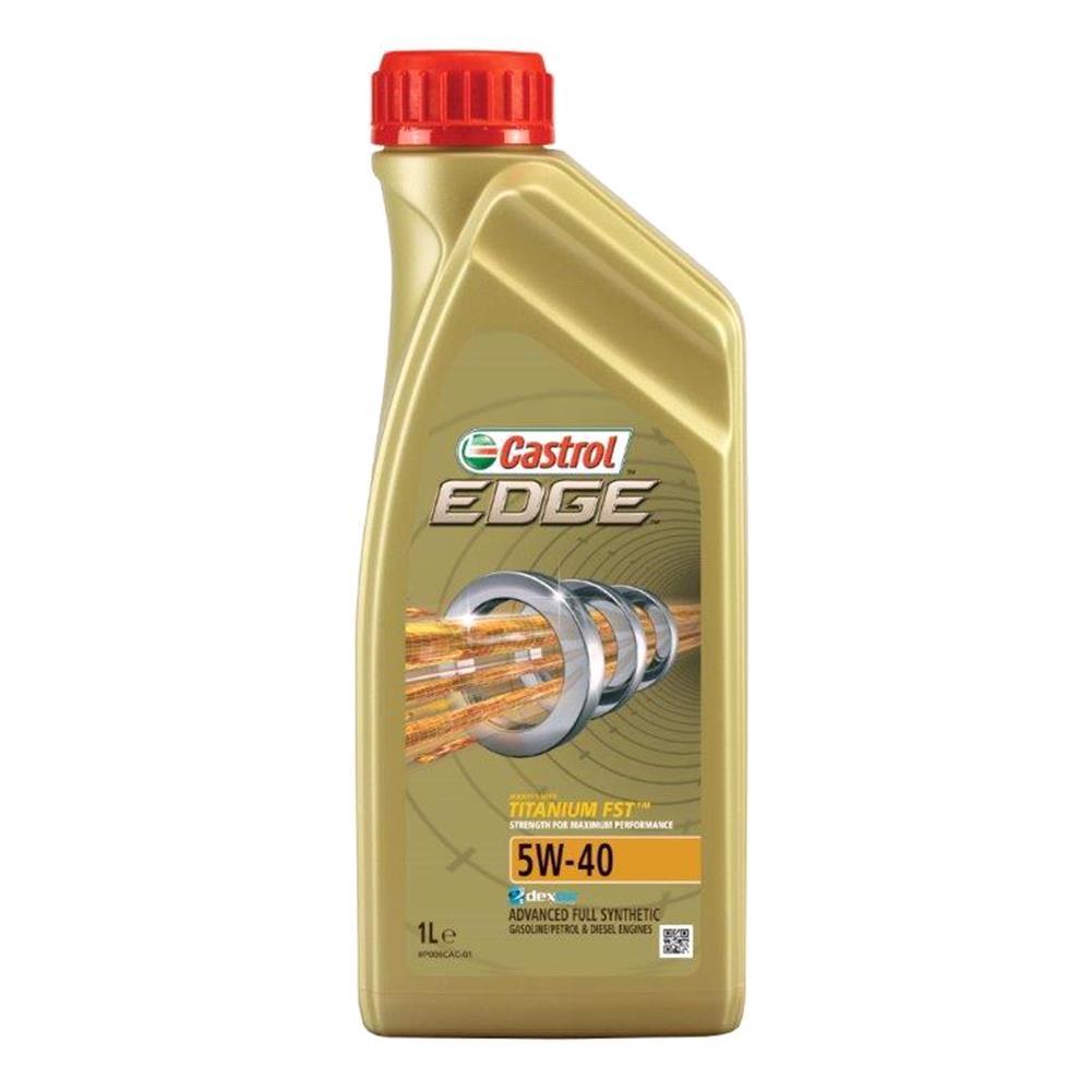 Castrol Edge 5W 40 Titanium FST Fully Synthetic Engine Oil. 1 Litre