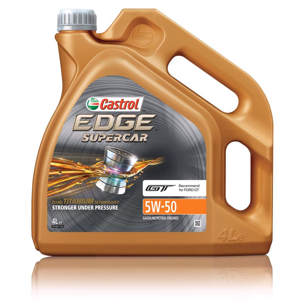 CASTROL EDGE SUPERCAR 5W 50 Engine Oil 4ltr *