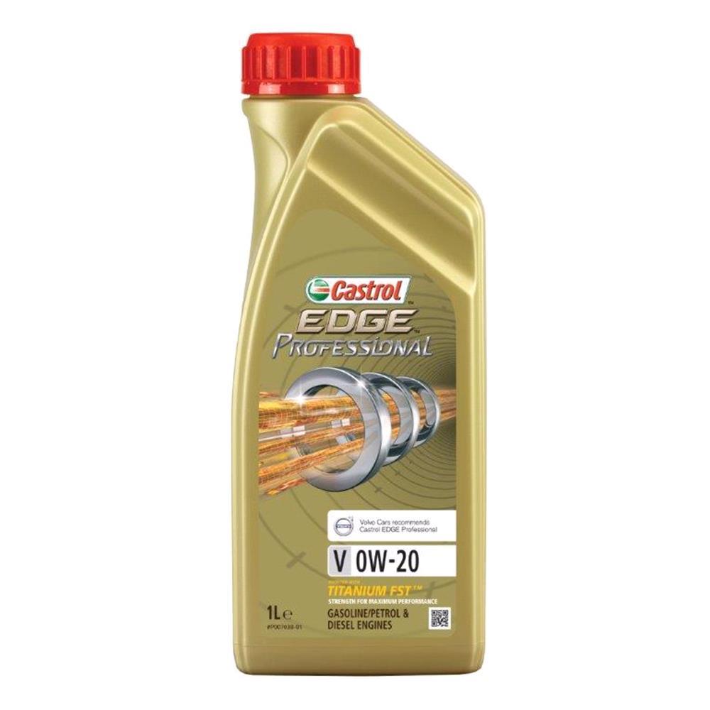 CASTROL EDGE 0W 20 Engine Oil V 1L *