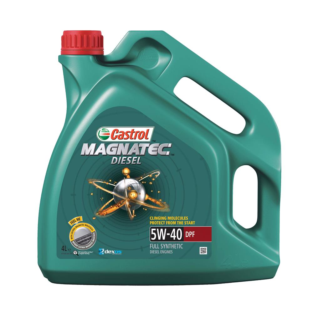 Castrol Magnatec Diesel 5W 40 Engine Oil DPF 4ltr *