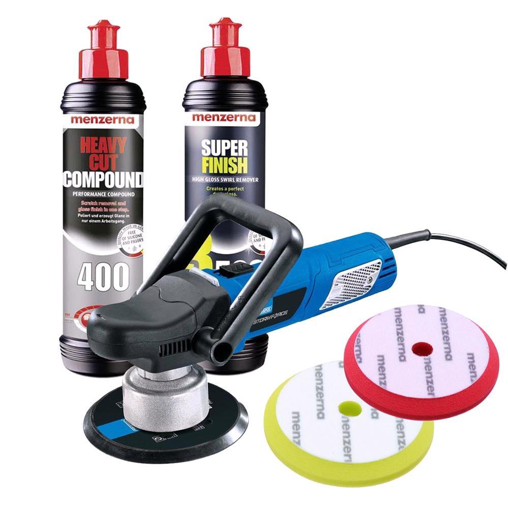 Menzenra & Draper Car Polishing Kit