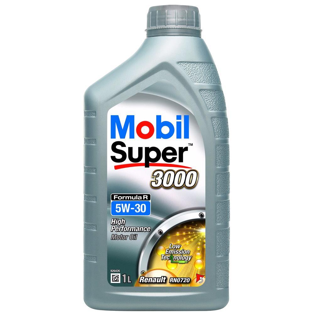 Mobil Super 3000 Formula R 5W 30 Engine Oil   1 Litre