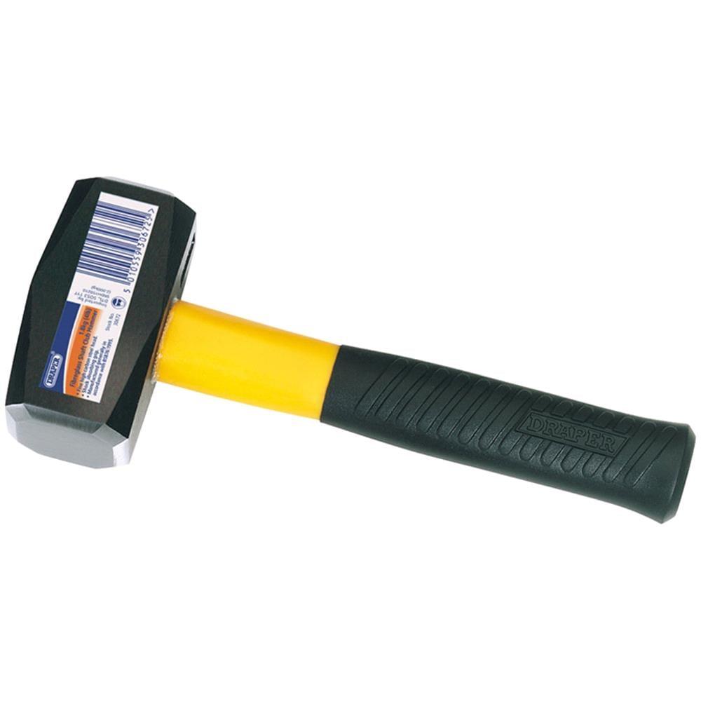 Draper Expert 560 g Bricklayers Hammer with Tubular Steel Shaft 13964