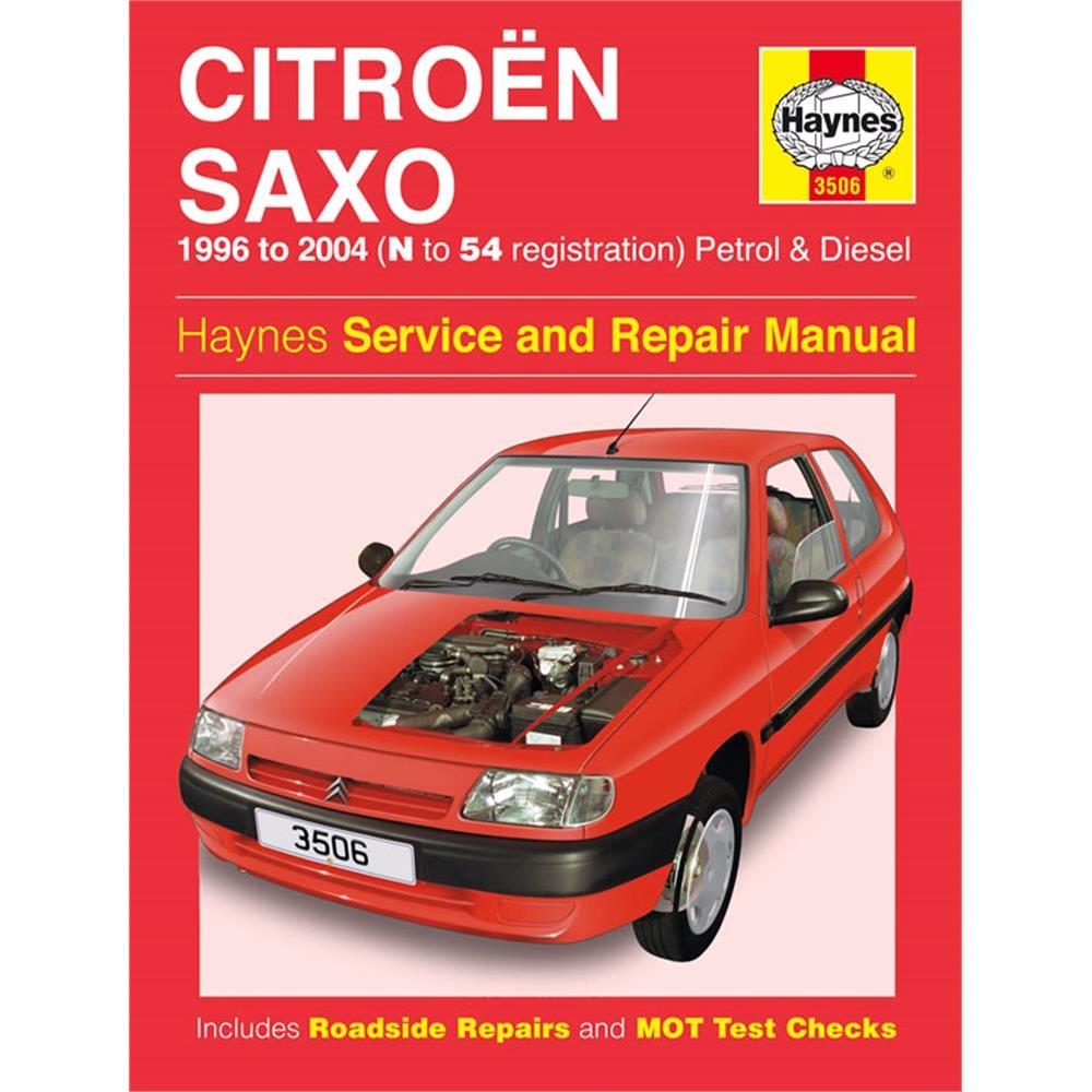 Haynes Citroën Saxo Petrol & Diesel (96 04) N To 54 Reg For   MicksGarage