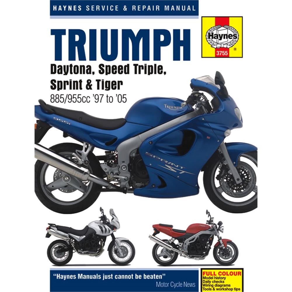 Triumph Fuel Injected Triples (1997 2005) Haynes Manual For | MicksGarage
