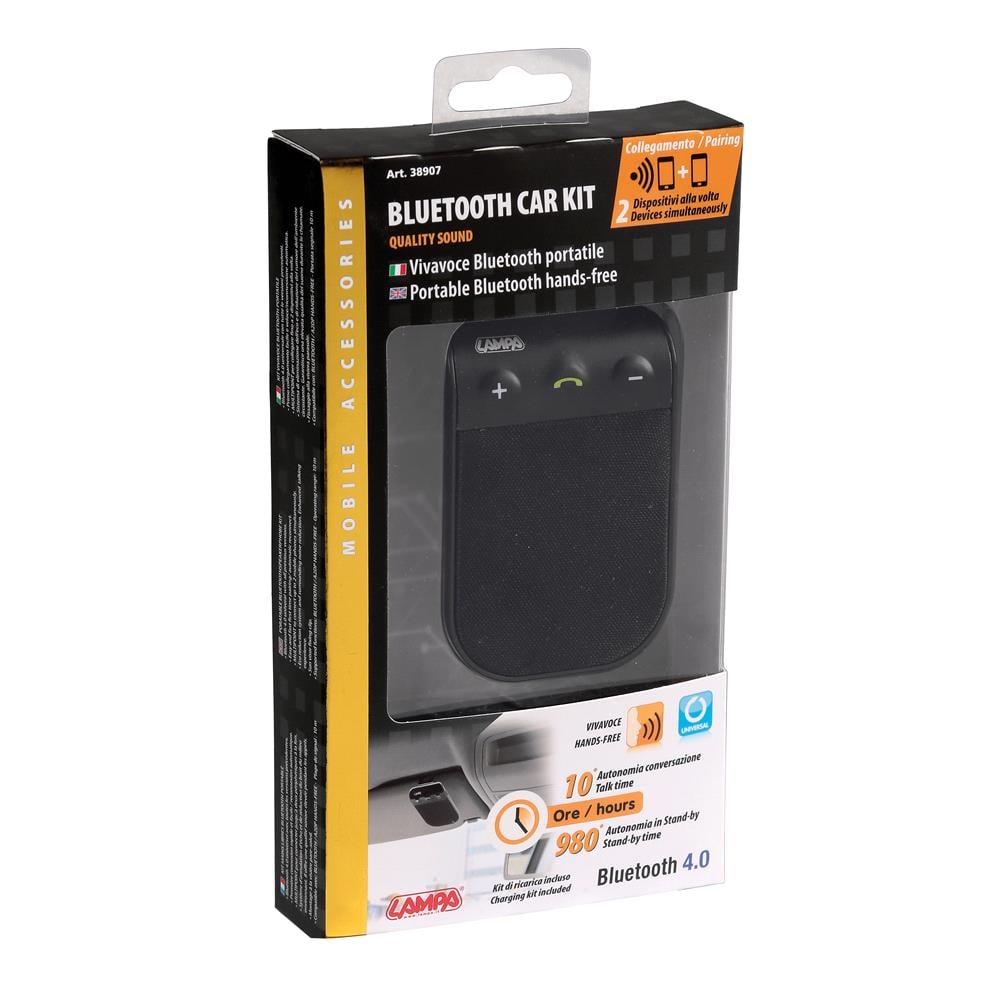 Bluetooth Handsfree Car Kit, Portable Bluetooth Speaker Phone Kit