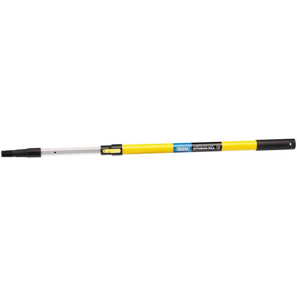 Draper 41573 Step Lock Fibreglass Extension Pole (1.2M)