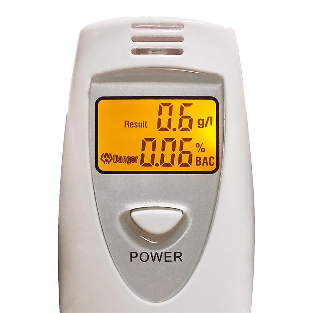 Digital Display Alcohol Breath Tester