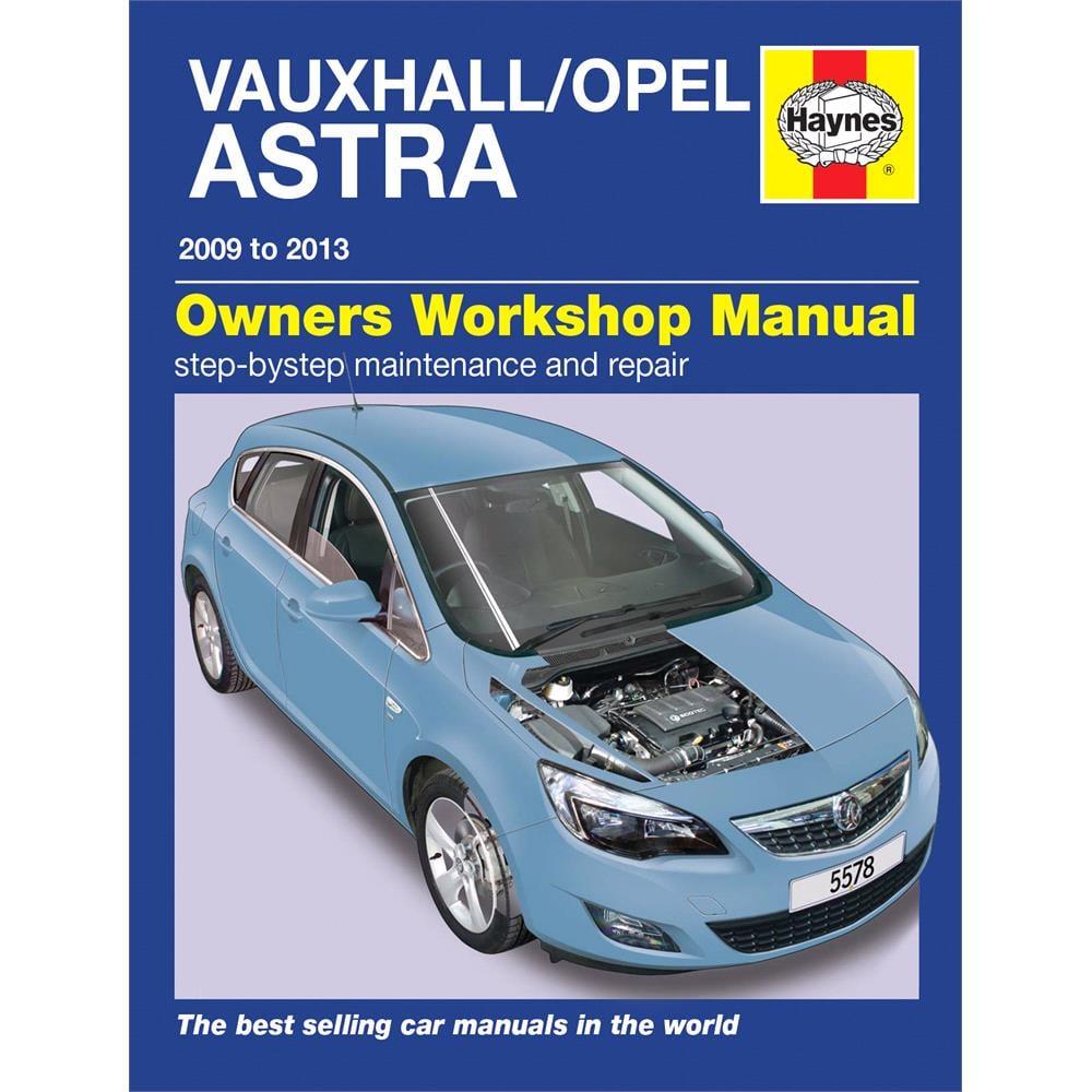 Vauxhall Astra Petrol & Diesel 2009 2013