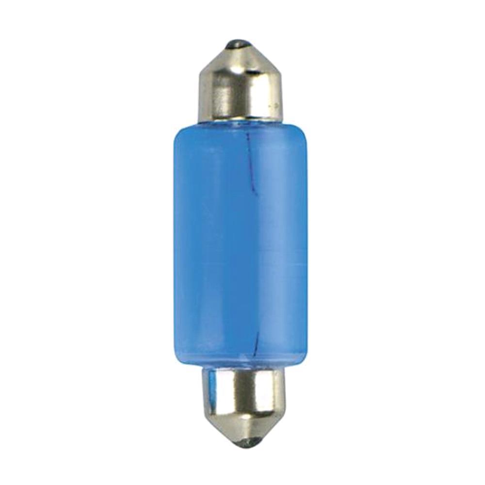 12V Blu Xe festoon lamp   15x41 mm   18W   SV8,5 8   2 pcs    D/Blister