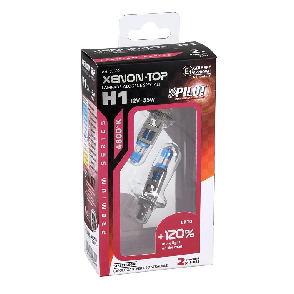 Pilot 120% Brighter H1 Bulb    Twin Pack