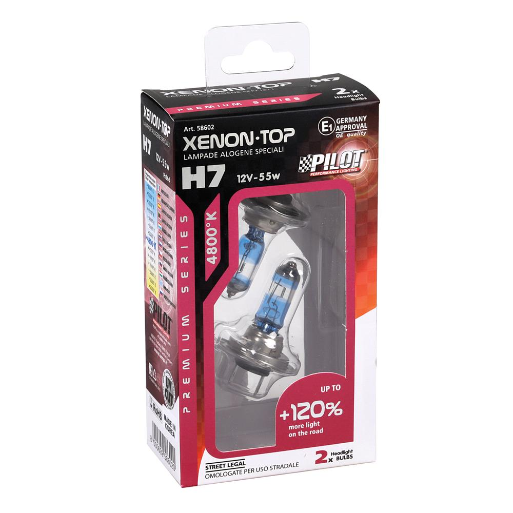 Pilot 120% Brighter H7 Bulb    Twin Pack