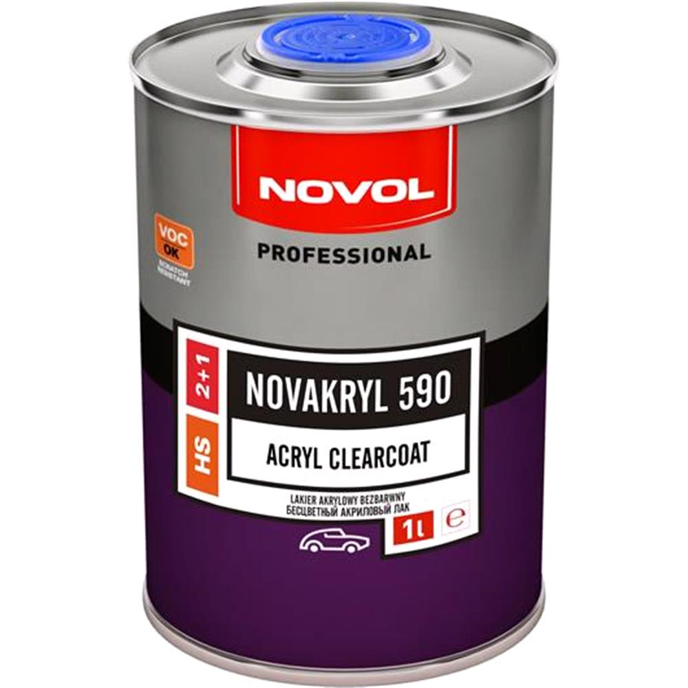 Novakryl 590   Acryl Clearcoat 2+1, 1.0 Litre