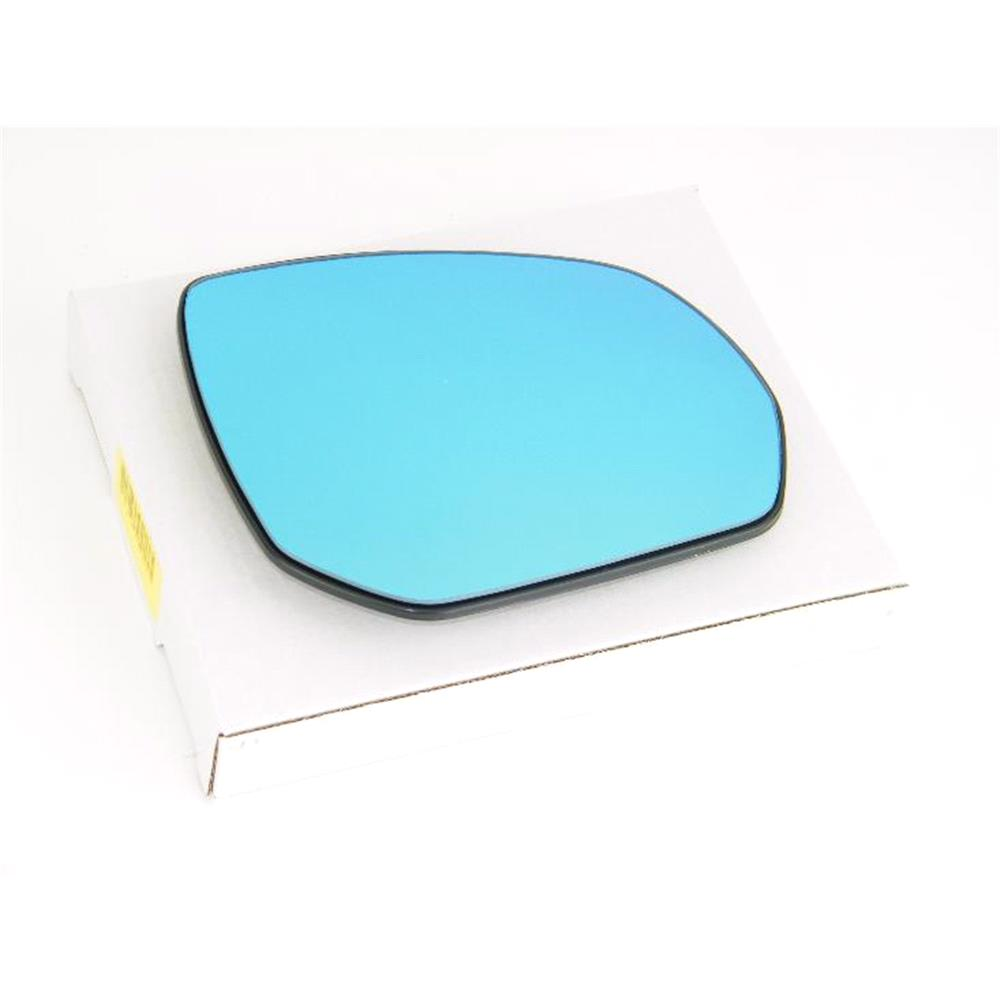 Right Blue Mirror Glass (Heated) & Holder For Peugeot 5008, 2009 ...