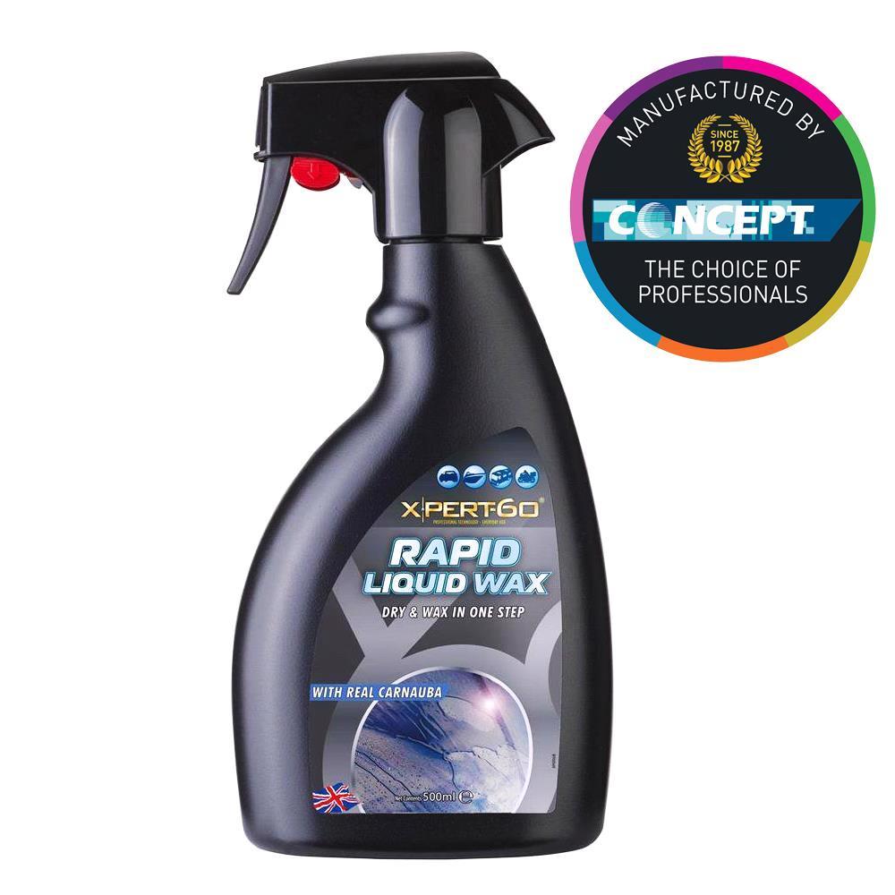 Concept® Xpert 60 High Gloss Carnauba Rapid Liquid Wax 500ML
