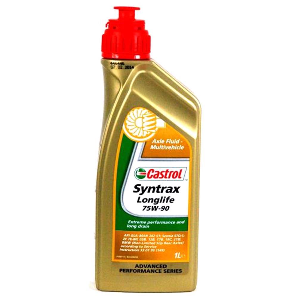 Castrol Syntrax Longlife 75w90 Gear Oil  1 Litre