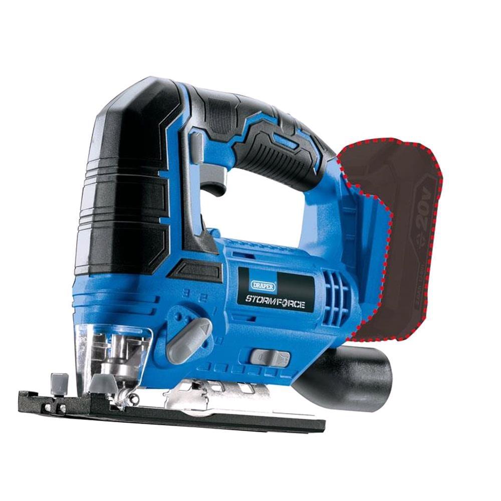 Draper 89477 Storm Force 20V Jigsaw