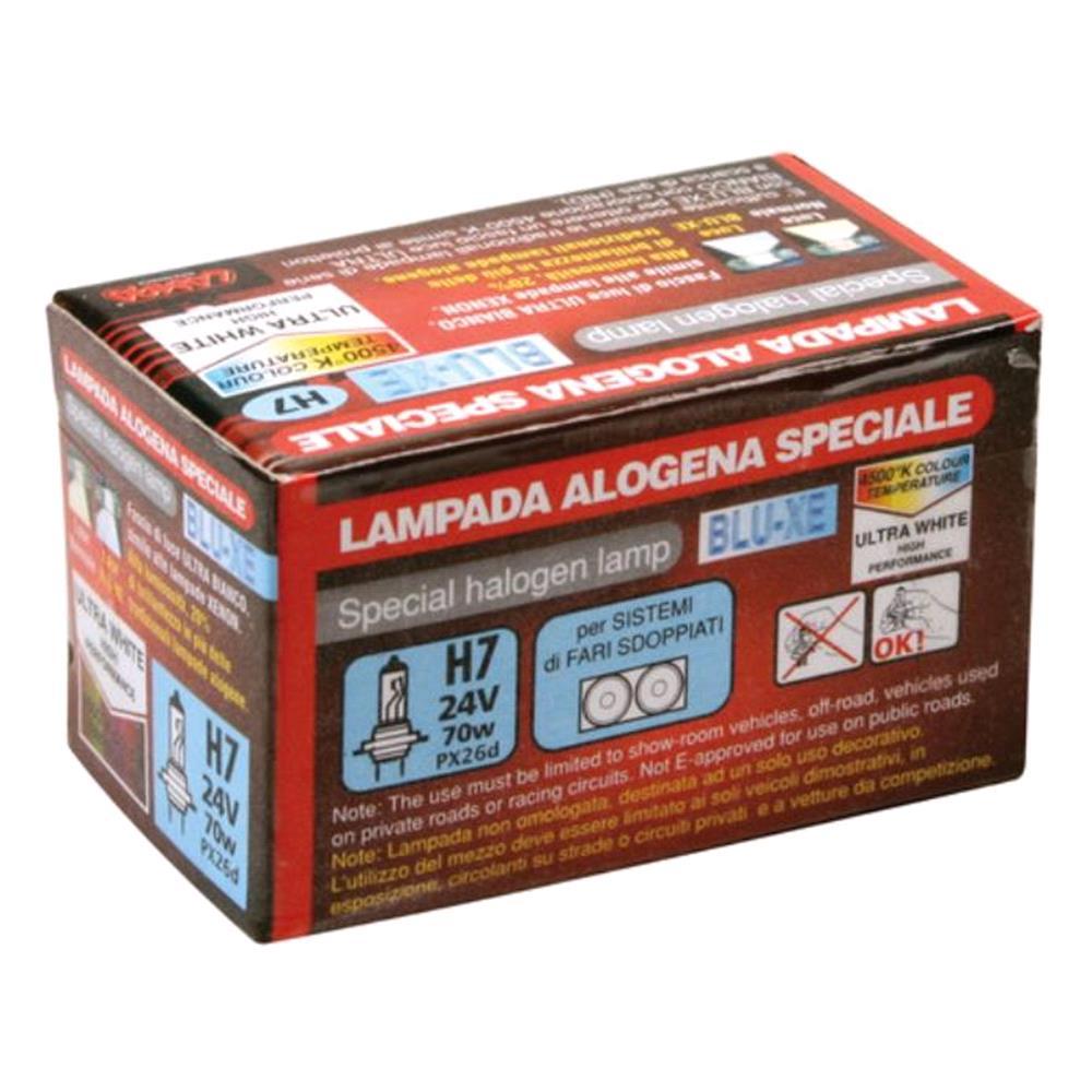24V Blu Xe halogen lamp   H7   70W   PX26d   1 pcs    Box