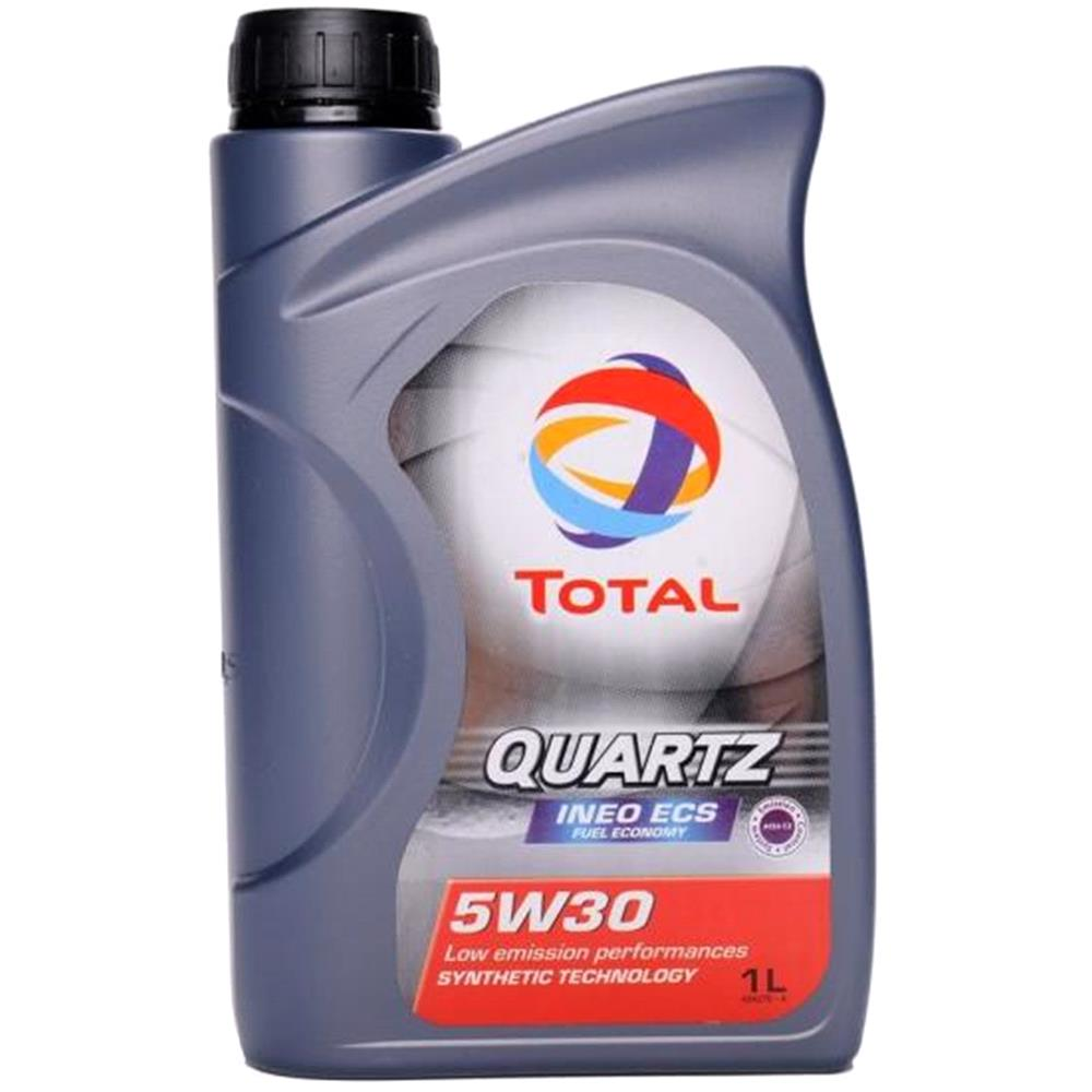 TOTAL Quartz Ineo ECS 5w30 Fully Synthetic Engine Oil. 1 Litre