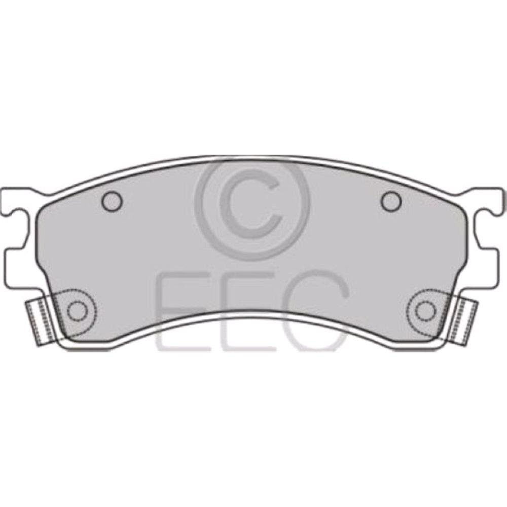 Lodal Front Axle Brake Shoes : Eec front brake pads full set for axle micksgarage