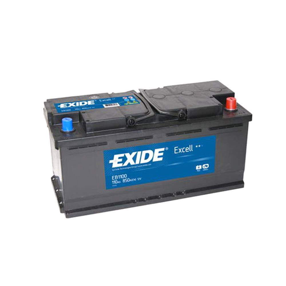 Exide EB1100 Excell Battery 020 3-Year Guarantee
