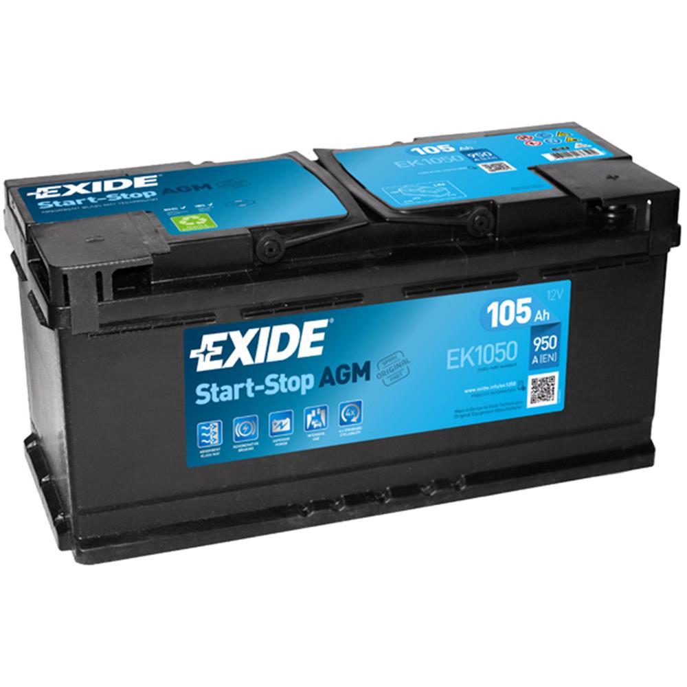 Exide Car Batteries Micksgarage Nissan B13 Fuse Box Diagram Ek1050 Battery 3 Years Warranty
