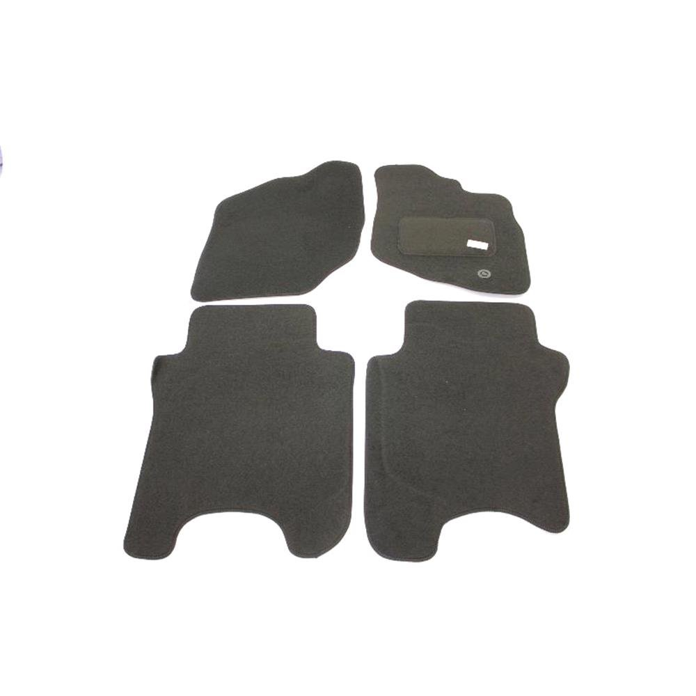 Car Mats, Fully Tailored Car Floor Mats - Honda JAZZ 2002 to 2008, Black