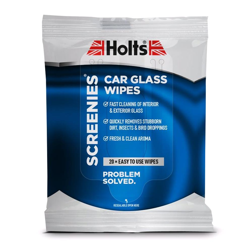 Holts Screenies Car Glass Wipes   20 Pack