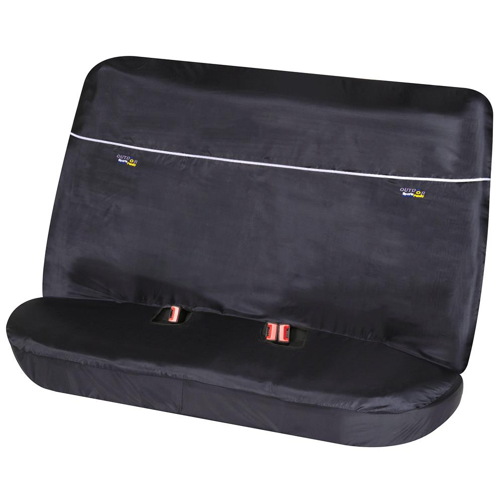 Universal Bench Protective Seat Cover Outdoor Sports   Black