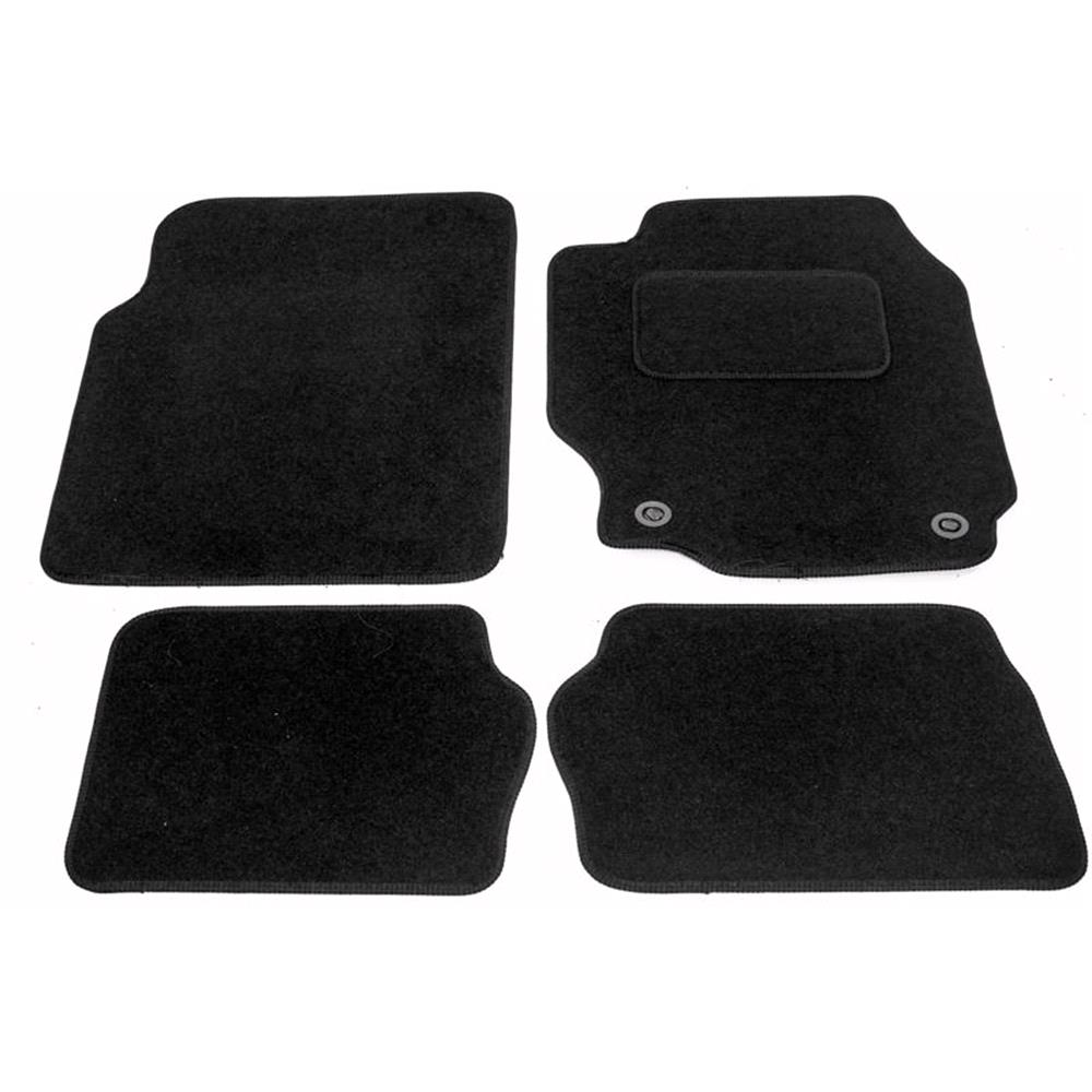 Fully Tailored Car Floor Mats Nissan Almera Mk Ii 2000 2006 Black