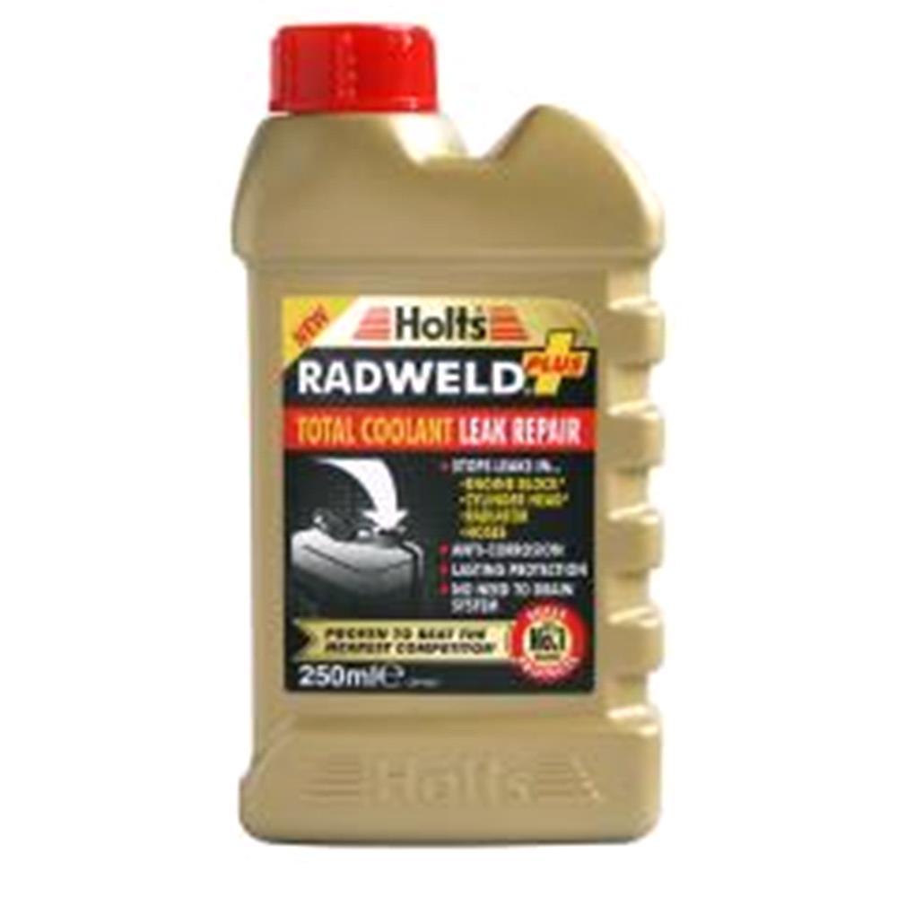 Holts Radweld Plus. Pour in Radiator, Block & Head Leak Repair