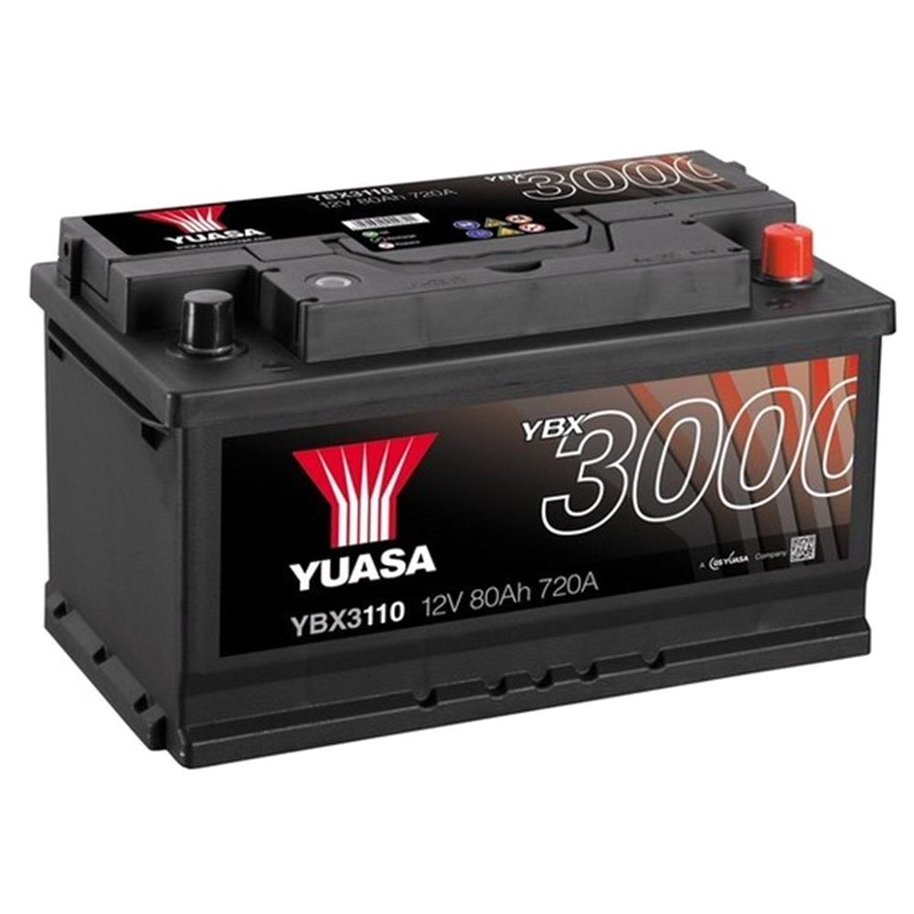 Batteries For Nissan Primastar Van Micksgarage B13 Fuse Box Diagram Yuasa Ybx3110 Battery 110 3 Year Guarantee