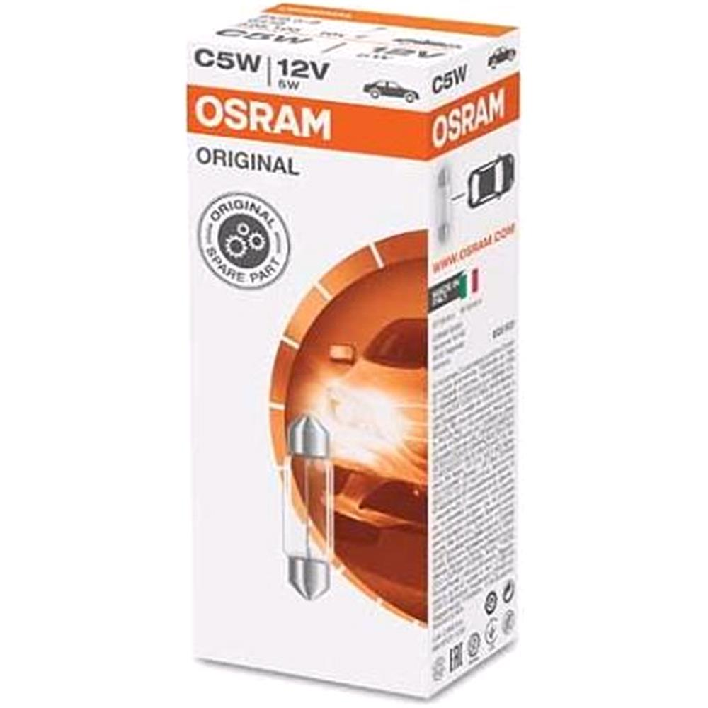 Osram Original C5W  Bulb    Single for Ssangyong REXTON, 200 Onwards