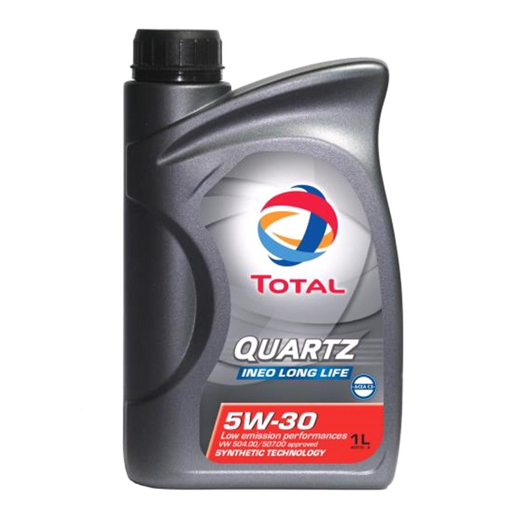 TOTAL Quartz Ineo Long Life 5w30 Fully Synthetic Engine Oil. 1 Litre