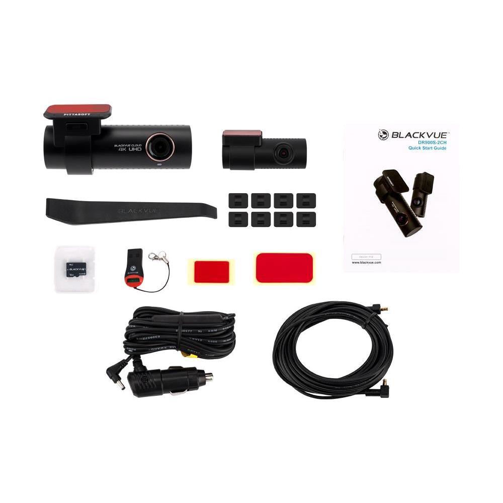 BlackVue DR900S 2CH Dash Cam (16GB) 4k UHD
