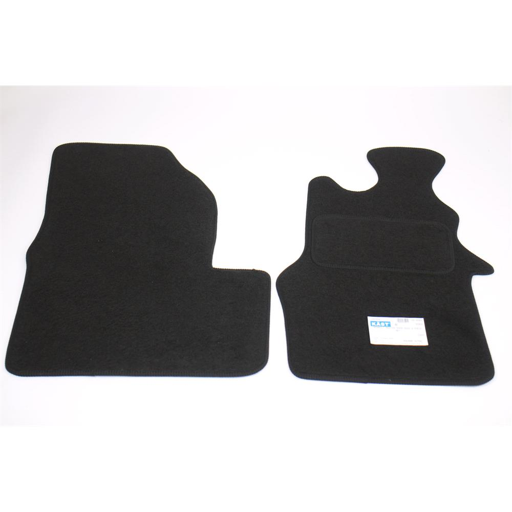 Fully Tailored Car Floor Mats Renault Master Iii Bus 2003 Onwards Black